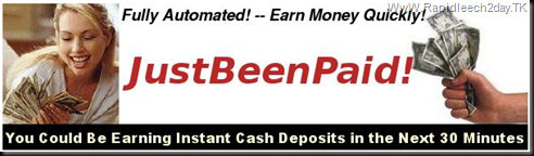 "JustBeenPaid - ""You've Just Been Paid!"" JBP Jss-Tripler Most Powerful Advertising/Marketing System on the Internet! - Fully Automated! - Earn Money Quickly!"