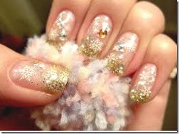 unghii de craciun-iarna
