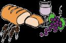 símbolos da páscoa - o pão e o vinho