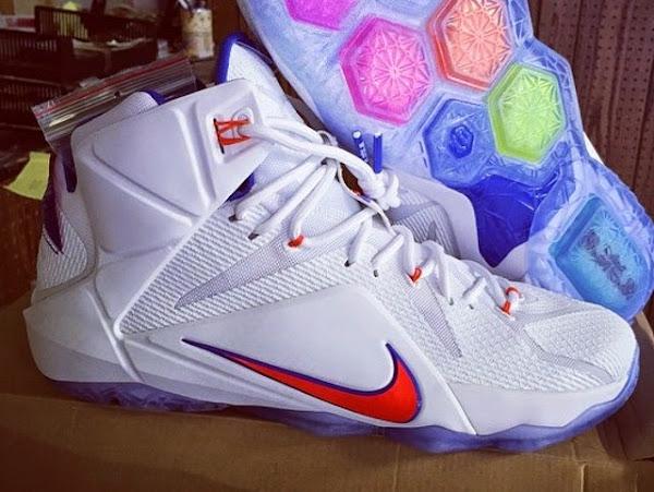 Nike LeBron XII 8211 Florida Gators 8211 Home amp Away PEs