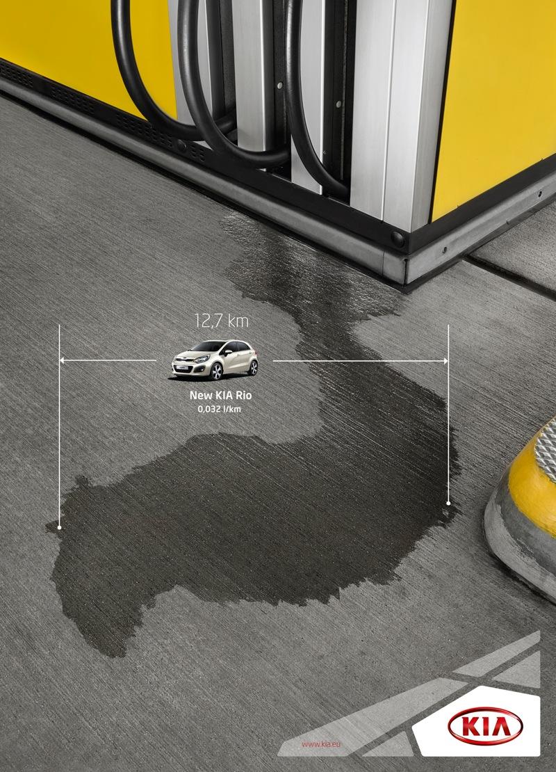 Kia spill ground print