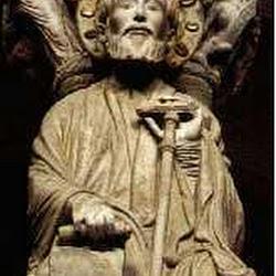 86- Santigo del Portico de la Gloria de la Catedral de Santiago
