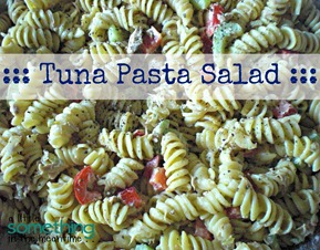 Tuna Pasta Salad Finished