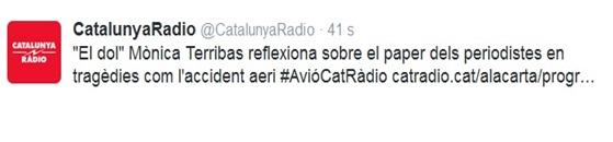 se vei tròp Catastròfa Germanwings Catalunya Ràdio a vist
