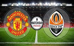 Manchester United vs Shakhtar Donetsk