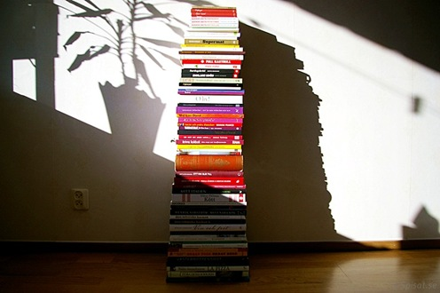 Böcker ger skugga