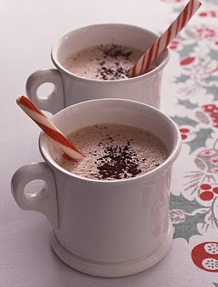 Use candy canes as a hot cocoa or coffee mixer -- a festive way to add color to your dark cup of java.