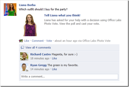 how to create a poll on facebook with pictures