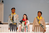 Pathfinders Induction 2012