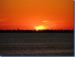 5981 Texas, South Padre Island - KOA Kampground - sunset