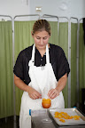 Cindy Bearman preparing the cocktail