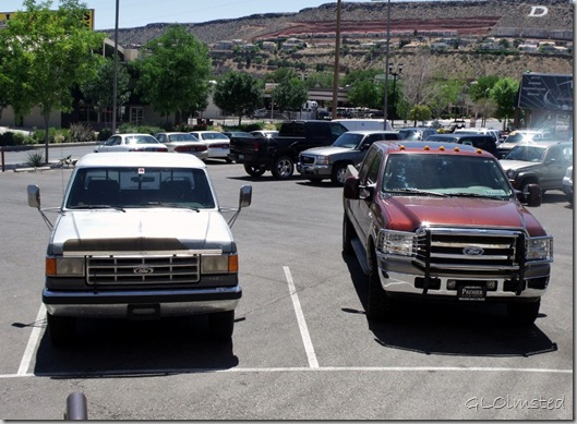 06 Old & new Fords side by side Premier car & truck sales St George UT (1024x750)