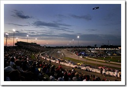 2008 ORP NNS sunset during Kroger 200 Doug Pensinger Getty