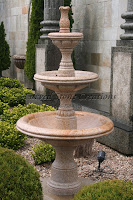 3-Tier Contemporary Self Contained Fountain, Giallo Fantasia