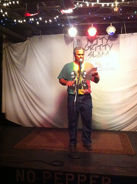 Damon at Nitty Gritty Slam #25