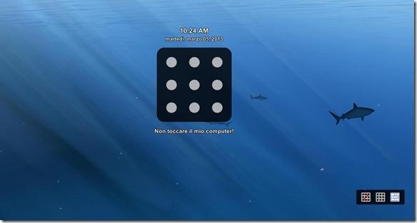Eusing Maze Lock schermata di blocco Pattern Lock