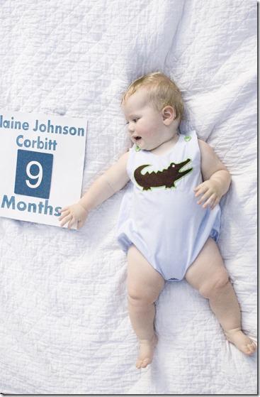 Blaine 9 months