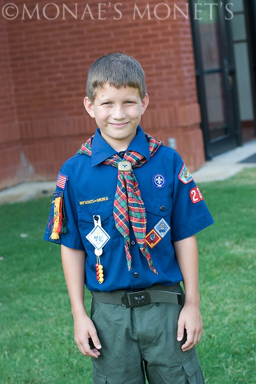 Austin crossing over to 11 year old scouts blog
