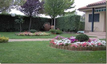 Fotos de jardines r sticos dise o y decoracion de jardines de casas - Diseno de jardines rusticos ...