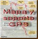 Mapa y soporte GPS -Cueva de Covalanas y Cueva del Mirón - Cantabria