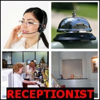 RECEPTIONIST- Whats The Word Answers