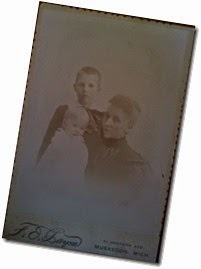 MILNE_Joseph & Irene with their mother_circa 1894