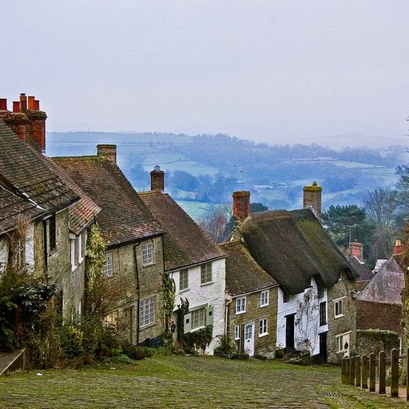 The Iconic Gold Hill of Shaftesbury