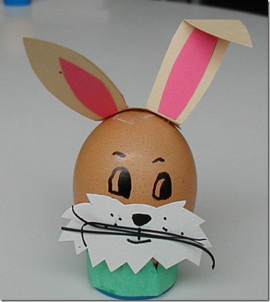 manualidades conejo de pascua