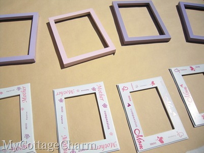 how to re-do old frames