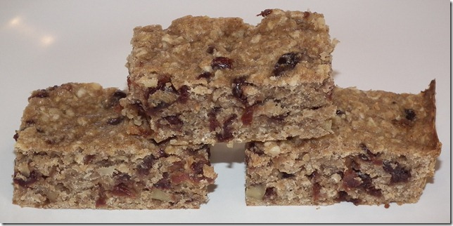 Cherry Walnut Bars 6-13-11