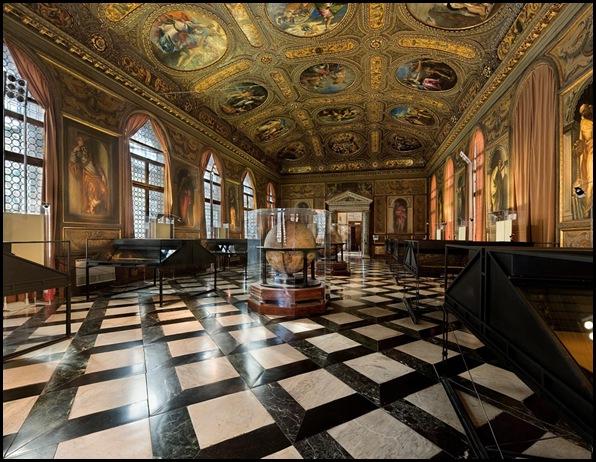 Bibliothèque Sansovino, Venise , Italie-7