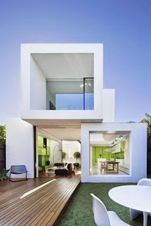 minimalist-fine-white-shakin-stevens-box-styled-house-design-with-wooden-deck-hallway-ideas
