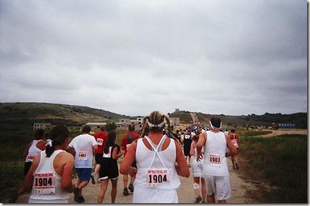 Camp Pendleton Mud Run hills