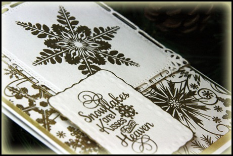 snowflake background, snowflake sentiments, sparkling snowflakes