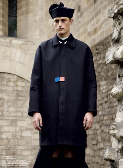 Bastian Van Gaalen by Anthony Maule for VMan #23, September2011
