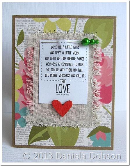 True love by Daniela Dobson