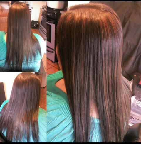 Healthy hair is beautiful hair medium brown hair color wcopper medium brown hair color wcopper lowlights and highlights blended pmusecretfo Images