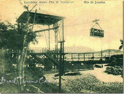 bondinho pao de acucar 1912 - 5