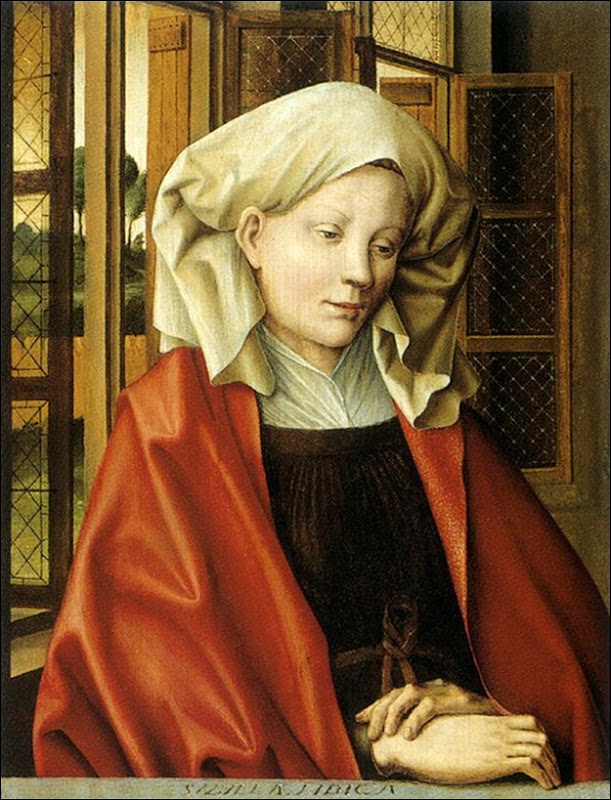 Robert Campin, Sibylle  Libyque