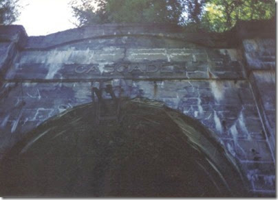 East Portal of the old Cascade Tunnel in 1994