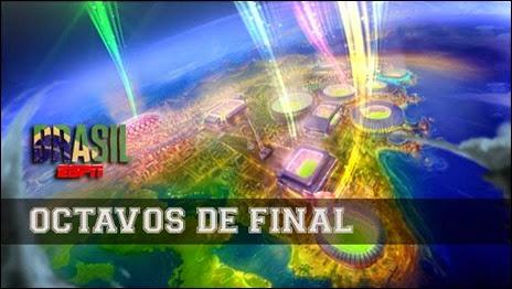 Ver Online Partidos de Octavos de Final, Copa Mundial Brasil 2014: del 28 de Junio al 1 de Julio (HD)