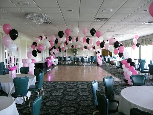 Sweet 16 decorations cake ideas and designs for Balloon decoration ideas for sweet 16