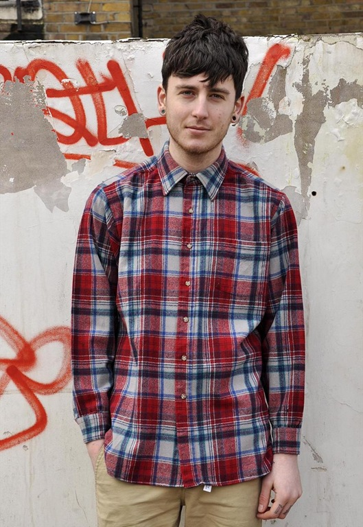 Vintage Pendleton Check Wool Shirt, £35, Sam Greenberg Vintage