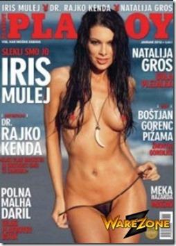 Playboy Slovenia - Dezembro 2011