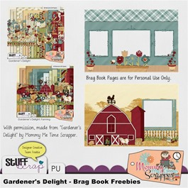 Mommy Me Time Scrapper - Gardener's Delight - Preview