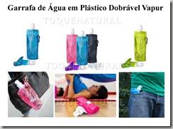 Garrafa De Água em Plástico Dobrável Vapur