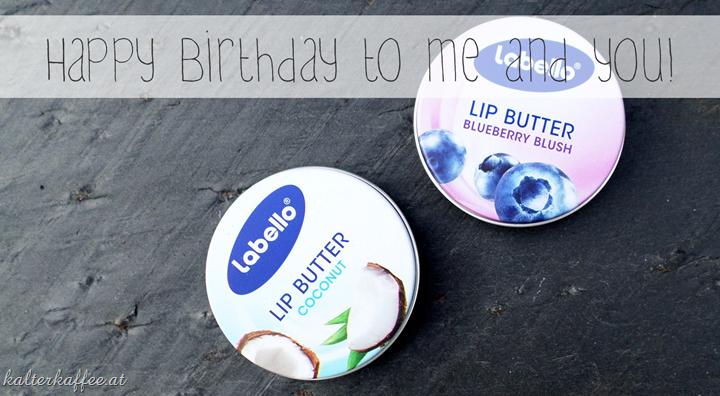 Labello Nivea Lip Butter Coconut Blueberry Blush giveaway