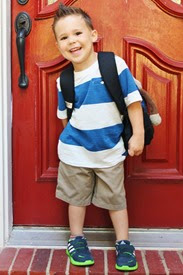 Nash's First Day of Preschool 023