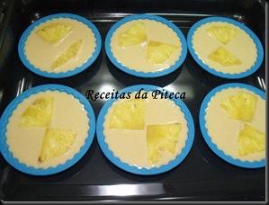 Tarteletes de ananás-enformadas