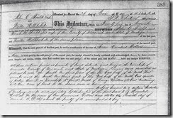 GOULD_John C_sale of land to Walter Hibblewhite_23 Nov 1871_ArmadaMich_pg 1